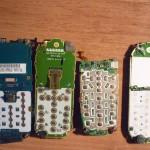 Платы от мобильных телефонов